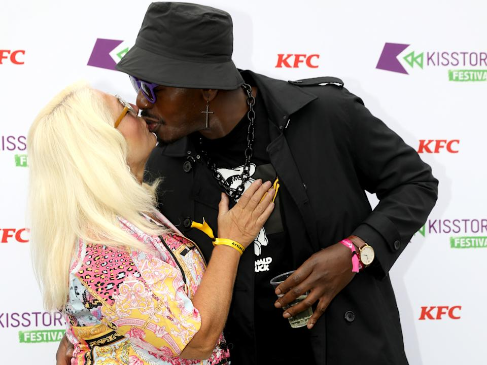 Vanessa Feltz and Ben Ofoedu have a very passionate relationship. (Getty Images)