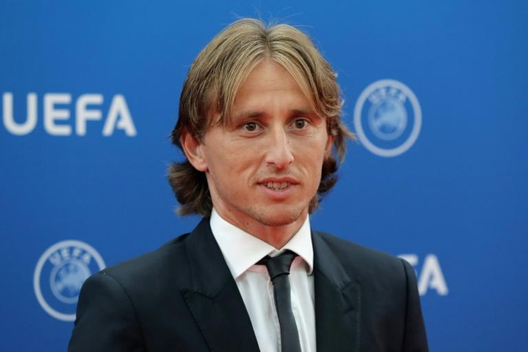 "UEFA Player of the Year Luka Modric praised his father's role in pushing him to ""fight for my dreams"""