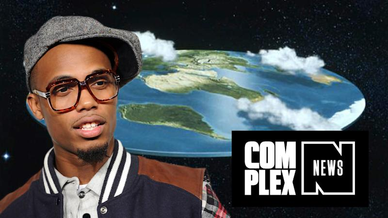 B.o.B Is Doing Everything He Can to Prove the Earth Is Flat