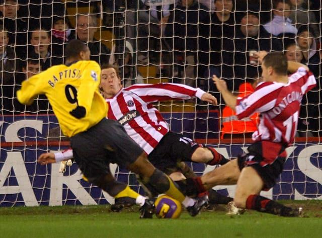 Arsenal and Sheffield United have not met in the Premier League since 2006