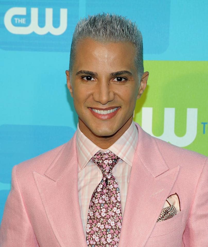 "<a href=""/jay-manuel/contributor/676278"">Jay Manuel</a> (""<a href=""/america-39-s-next-top-model/show/35130"">America's Next Top Model</a>"") attends the 2010 The CW Upfront at Madison Square Garden on May 20, 2010 in New York City."