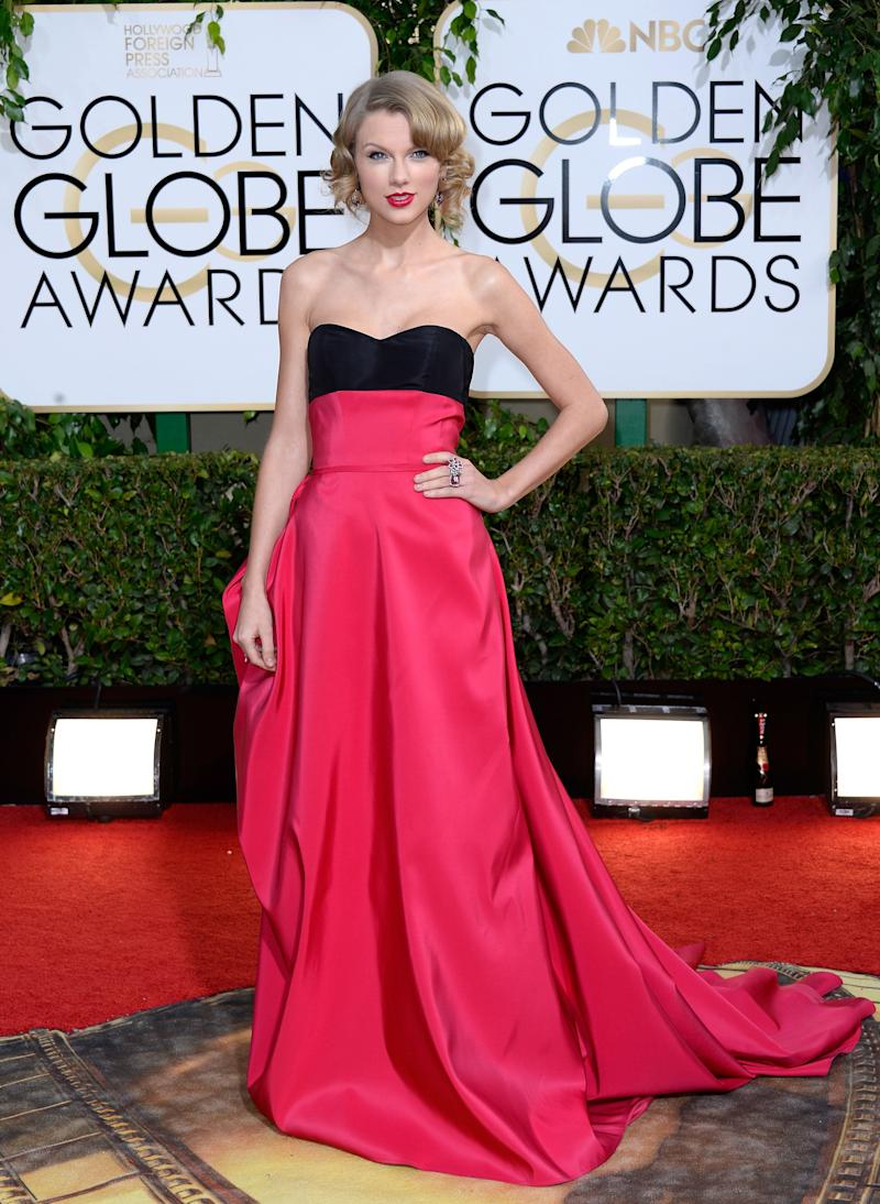 At the 71st Annual Golden Globe Awards held at the Beverly Hilton Hotel on Jan. 12, 2014.