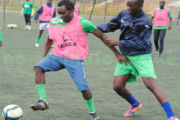 Gor Mahia striker sets target as new season beckons