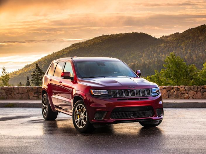 2020 Jeep Grand Cherokee Trackhawk.