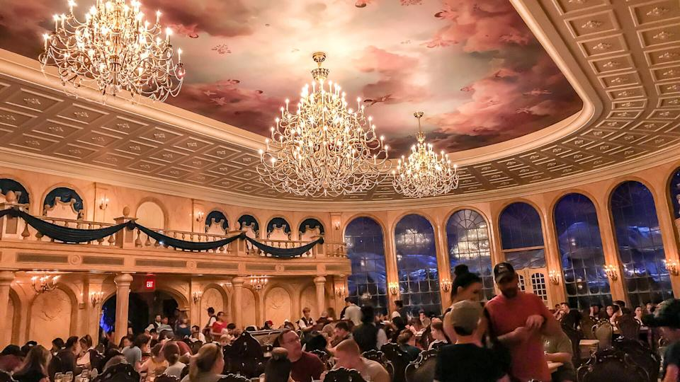 Be Our Guest restaurant Disney World Orlando