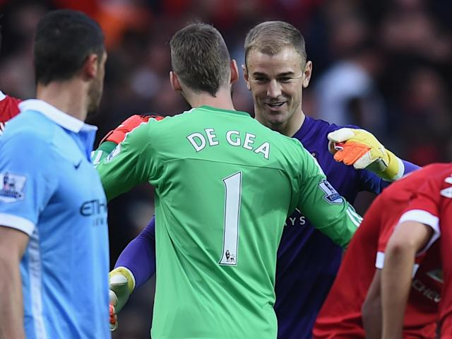 Hart would be open to a controversial switch to Manchester United: Getty