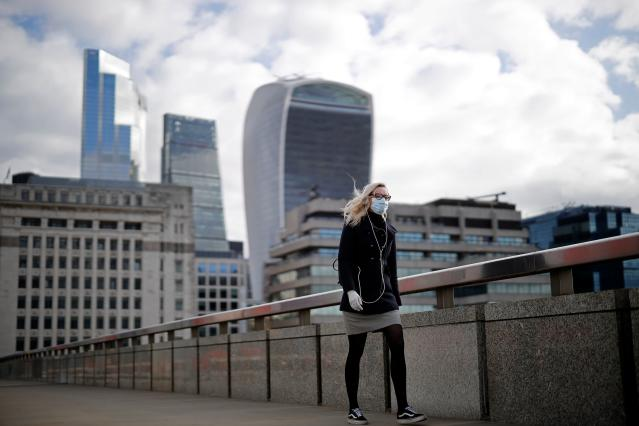 The UK economy is forecast to contract by 8% in 2023. (Tolga Akmen/AFP via Getty Images)