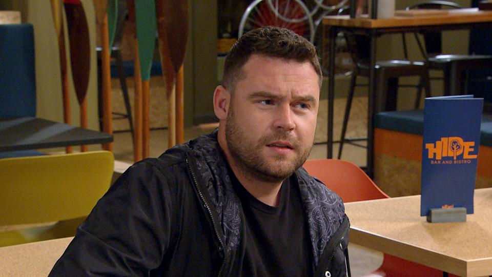 FROM ITV  STRICT EMBARGO  Print media - No Use Before Tuesday 13th July 2021 Online Media - No Use Before Tuesday 13th July 2021  Emmerdale - Ep 9104  Tuesday 20th July 2021   Victoria Sugden [ISABEL HODGINS] reveals Robert has decided not to appeal his conviction and Aaron Dingle [DANNY MILLER] promises he will always be there for her.   Picture contact David.crook@itv.com   This photograph is (C) ITV Plc and can only be reproduced for editorial purposes directly in connection with the programme or event mentioned above, or ITV plc. Once made available by ITV plc Picture Desk, this photograph can be reproduced once only up until the transmission [TX] date and no reproduction fee will be charged. Any subsequent usage may incur a fee. This photograph must not be manipulated [excluding basic cropping] in a manner which alters the visual appearance of the person photographed deemed detrimental or inappropriate by ITV plc Picture Desk. This photograph must not be syndicated to any other company, publication or website, or permanently archived, without the express written permission of ITV Picture Desk. Full Terms and conditions are available on  www.itv.com/presscentre/itvpictures/terms