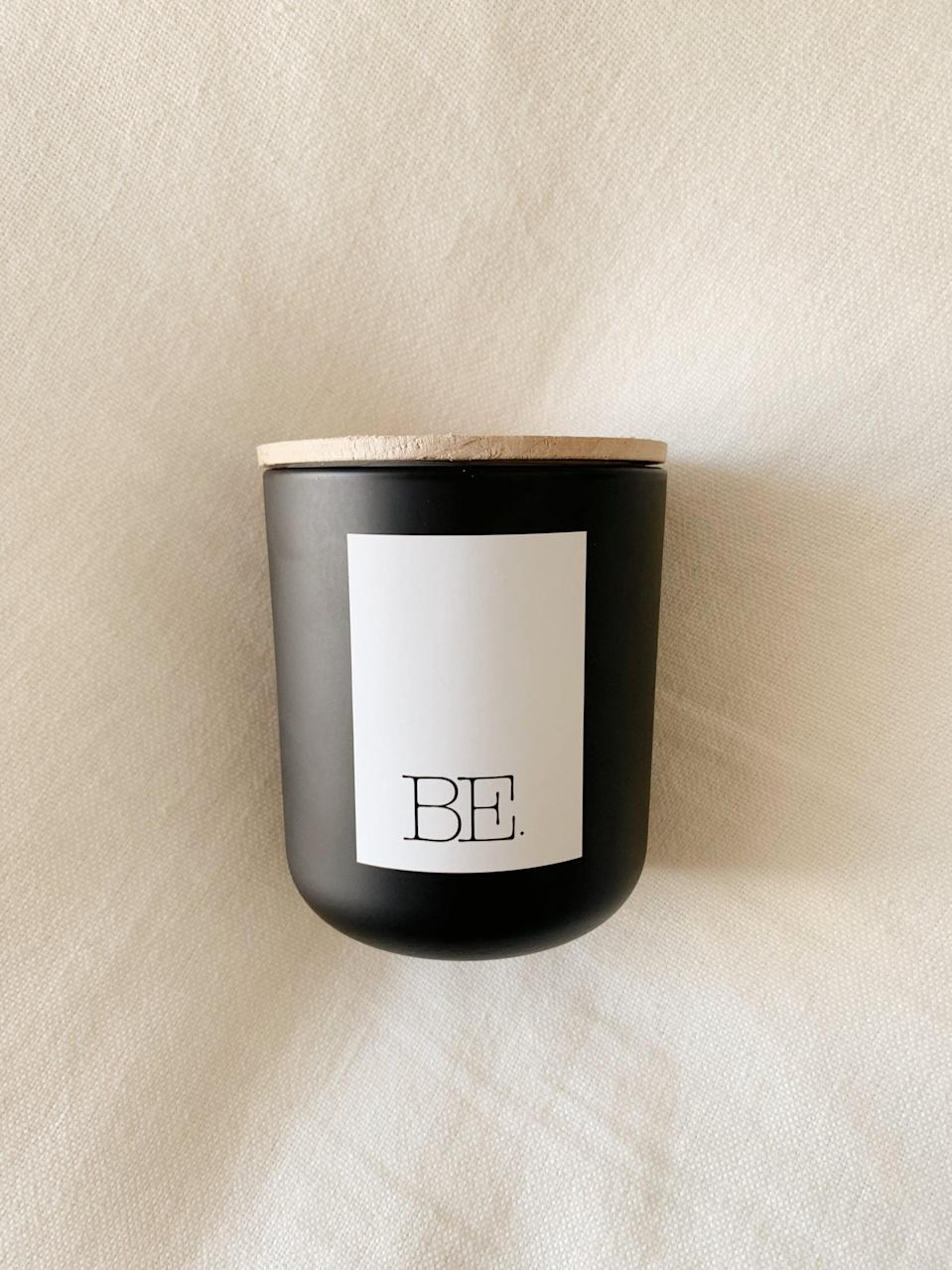 """<p>Fill your home with the amazing scent of the <a href=""""https://www.popsugar.com/buy/LIGHT-Santal-Vanille-Sandalwood-Candle-584601?p_name=BE.%20LIGHT%20Santal%20Vanille%20Sandalwood%20Candle&retailer=homebybe.com&pid=584601&price=45&evar1=casa%3Aus&evar9=47572354&evar98=https%3A%2F%2Fwww.popsugar.com%2Fhome%2Fphoto-gallery%2F47572354%2Fimage%2F47572400%2FBE-LIGHT-Santal-Vanille-Sandalwood-Candle&list1=shopping%2Chome%20decorating%2Cdecor%20shopping%2Chome%20shopping&prop13=mobile&pdata=1"""" class=""""link rapid-noclick-resp"""" rel=""""nofollow noopener"""" target=""""_blank"""" data-ylk=""""slk:BE. LIGHT Santal Vanille Sandalwood Candle"""">BE. LIGHT Santal Vanille Sandalwood Candle</a> ($45).</p>"""