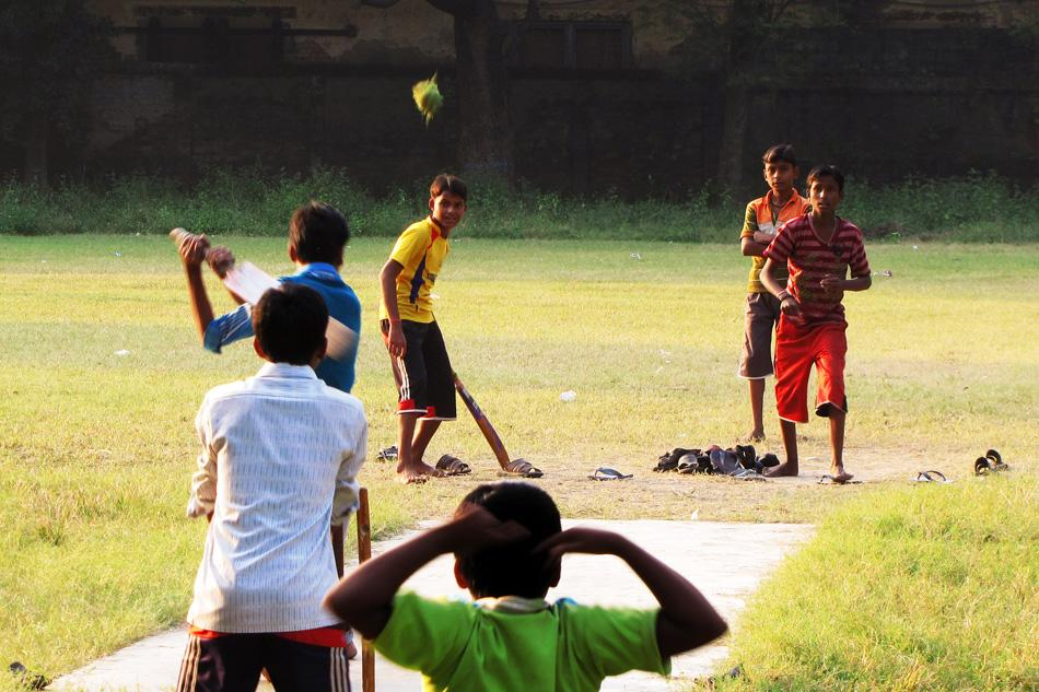 Boys hit it out on the Sreerampur College ground, West Bengal. By SOUMYADEEP GUHA , a teacher by profession and photographer by passion.  [SCPC5]