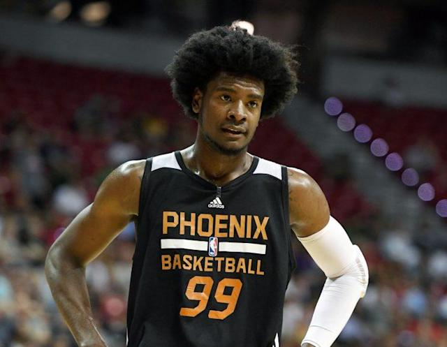 "<a class=""link rapid-noclick-resp"" href=""/ncaaf/players/264245/"" data-ylk=""slk:Josh Jackson"">Josh Jackson</a> played one season at Kansas. (AP)"