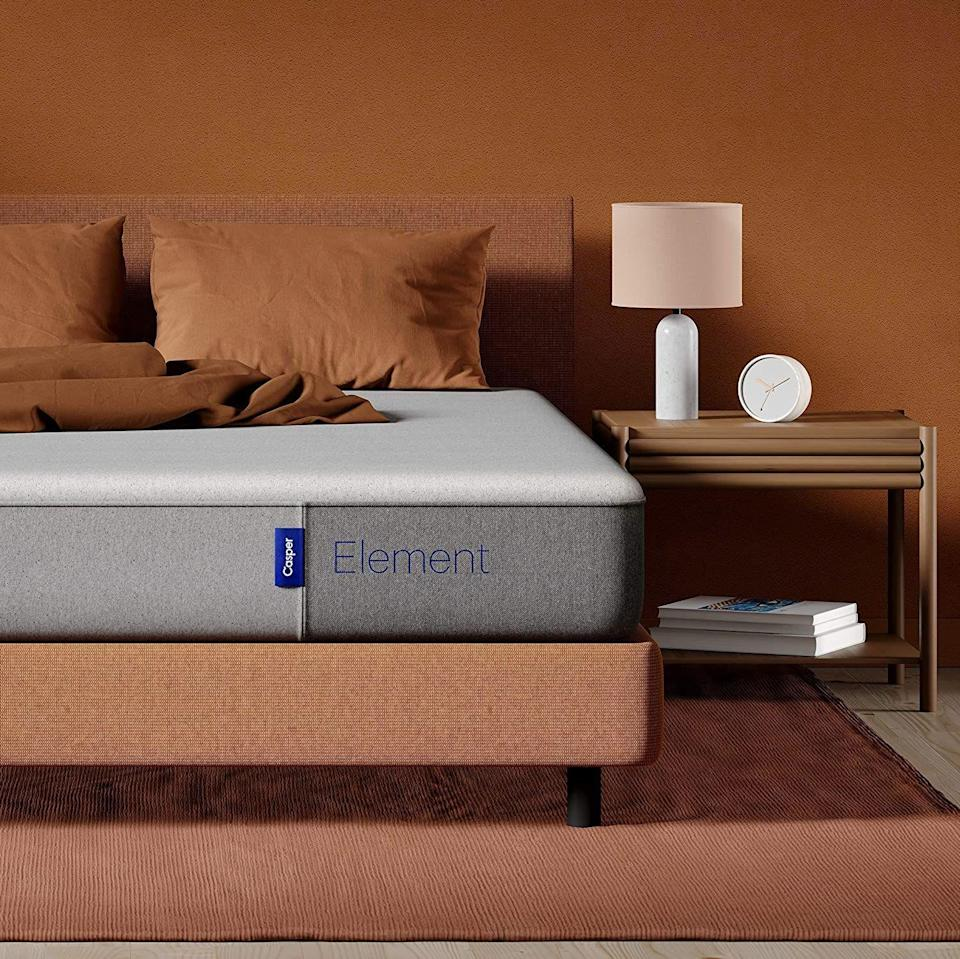 "<p><strong>Casper Sleep</strong></p><p>amazon.com</p><p><strong>$476.00</strong></p><p><a href=""https://www.amazon.com/dp/B085H466BX?tag=syn-yahoo-20&ascsubtag=%5Bartid%7C2089.g.34618159%5Bsrc%7Cyahoo-us"" rel=""nofollow noopener"" target=""_blank"" data-ylk=""slk:Shop Now"" class=""link rapid-noclick-resp"">Shop Now</a></p><p>Waiting for the right opportunity to <a href=""https://www.bestproducts.com/lifestyle/g33523754/top-mattresses/"" rel=""nofollow noopener"" target=""_blank"" data-ylk=""slk:replace your old mattress"" class=""link rapid-noclick-resp"">replace your old mattress</a>? This early Black Friday deal is it, with 10% savings for sweeter dreams at a solid price.<br></p><p>It combines softness and support with a memory foam top layer that conforms to your body to relieve pressure, while a sturdy base foam layer prevents sinking and sagging.</p>"