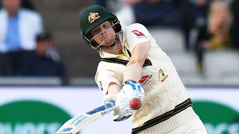 Steve Smith improved on his own record with a ninth straight Ashes half century.