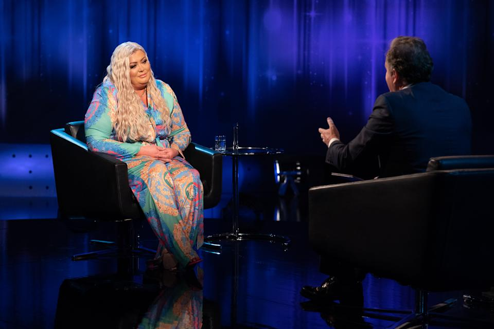 Gemma Collins opens up on Piers Morgan's Life Stories. (ITV)