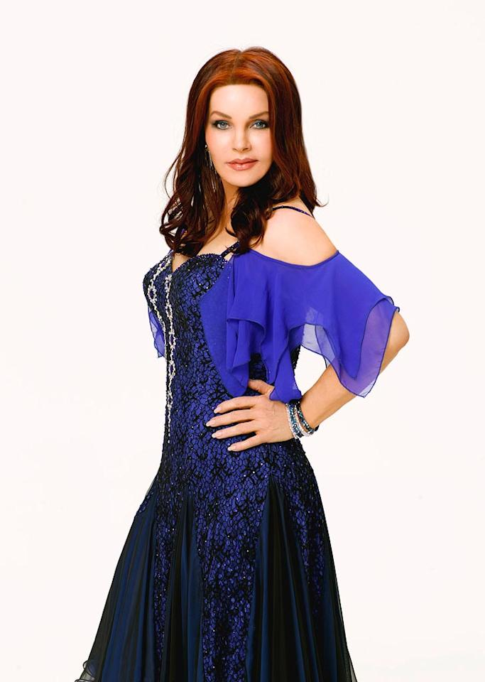 Actress, producer and entrepreneur Priscilla Presley partners with professional dancer Louis van Amstel for Season 6 of Dancing with the Stars.