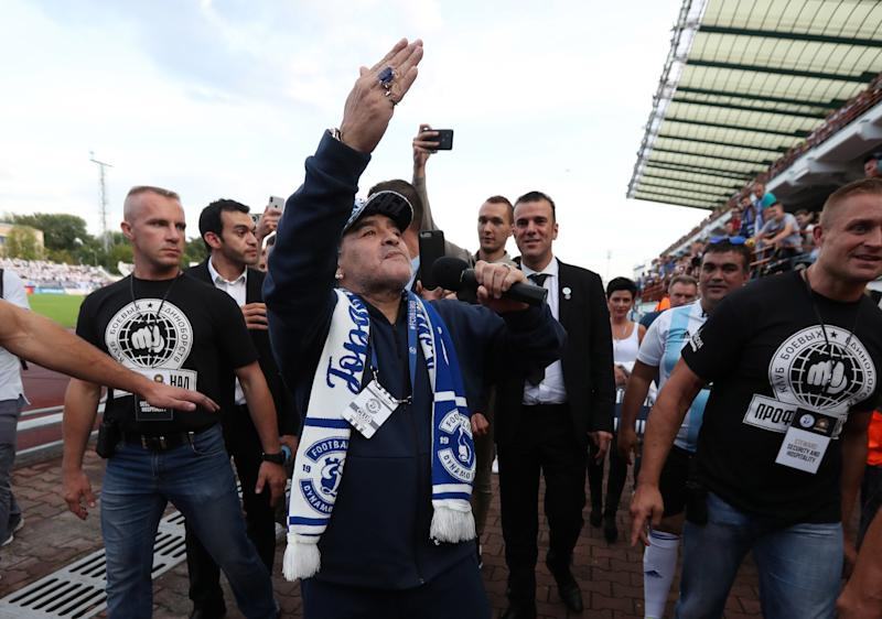 e923a38f52e Diego Maradona to become a chairman