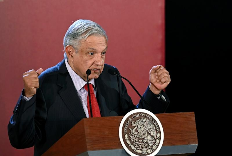 Mexican President Andres Manuel Lopez Obrador, pictured on June 17, 2019, has tried to cultivate cordial relations with US President Donald Trump (AFP Photo/ALFREDO ESTRELLA)