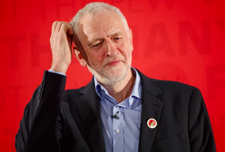 Jeremy Corbyn could not answer the question on how much his childcare policy would cost (Rex)
