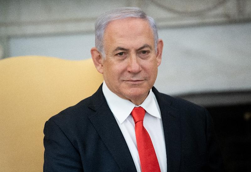 Netanyahu is not a suspect in the submarine case, but some of his friends are