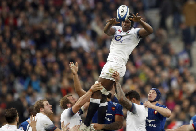 England's Maro Itoje has warned rugby union shares a wider racism problem. (AP Photo/Francois Mori)