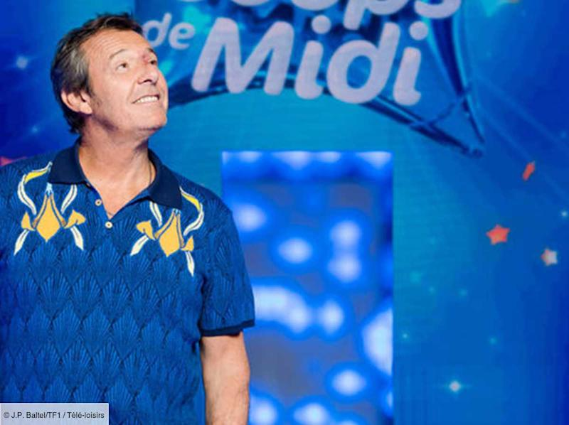 Jean-Luc Reichmann à l'animation de Spin the Wheel, le nouveau jeu de TF1