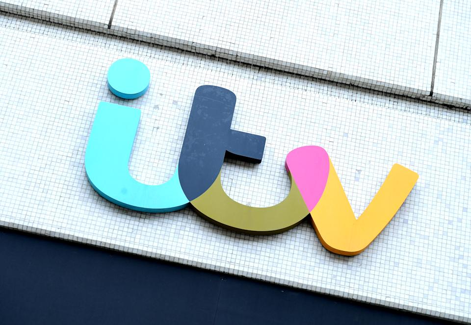 File photo dated 17/4/2018 of the ITV logo on The London Studios in London. ITV has said demand for advertising plunged 42% in April as marketing spend ground to a halt amid the coronavirus crisis, while it confirmed ITV Studios has had to pause most of its productions due to lockdowns worldwide.