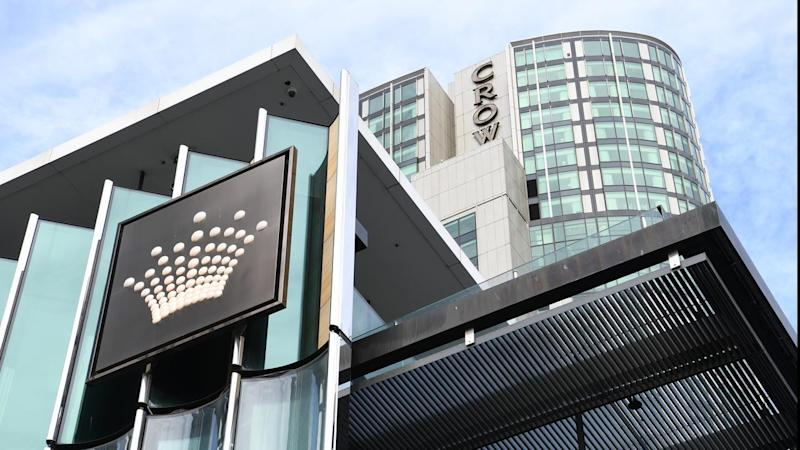 A man will be sentenced for stealing $125,000 worth of chips from Melbourne's Crown Casino.