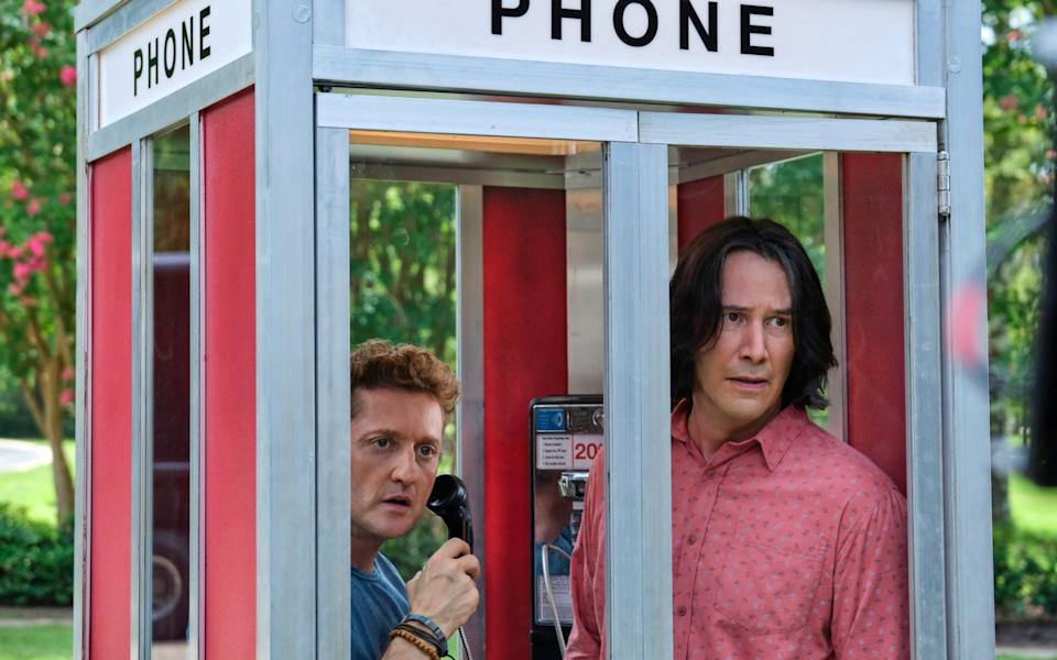 Keanu Reeves and Alex Winter in Bill and Ted Face the Music - Patti Perret