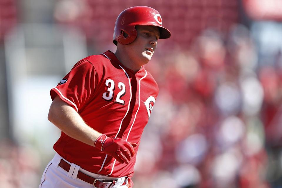 Jay Bruce's value has gone up since Cincinnati nearly traded him to Toronto. (Getty Images)