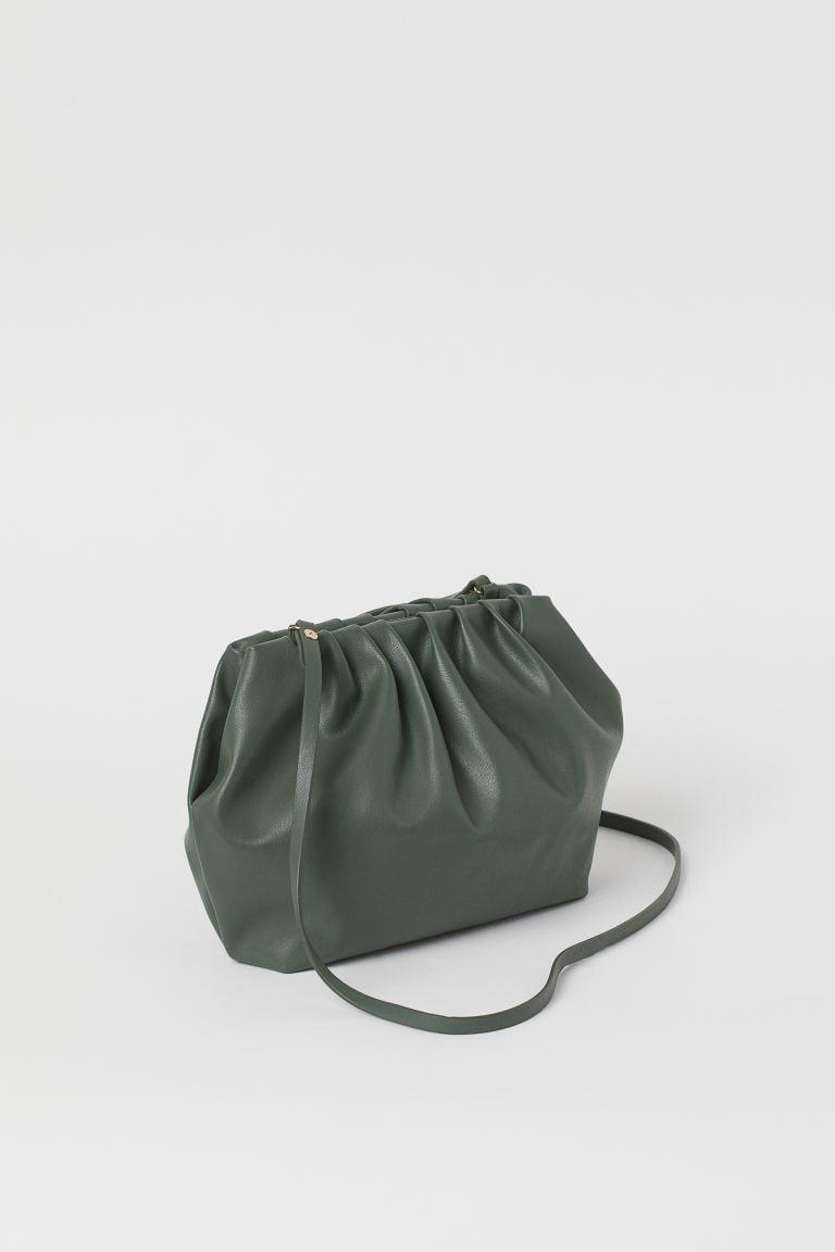 <p>The shade of this <span>H&M Soft Shoulder Bag</span> ($30) is perfect for fall.</p>