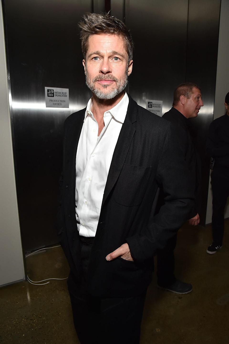 <p>The 54-year-old, pictured here in January, is currently single, as far as we know. Looking at old snaps of the star, you could definitely say he takes on the style of whoever he's dating. Photo: Getty Images </p>