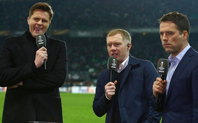 It's BT Sport's Europa League A-Team - Credit: McManus/BPI/REX/Shutterstock