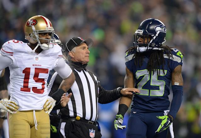 Troll on: Richard Sherman signing autographs with message for Michael Crabtree