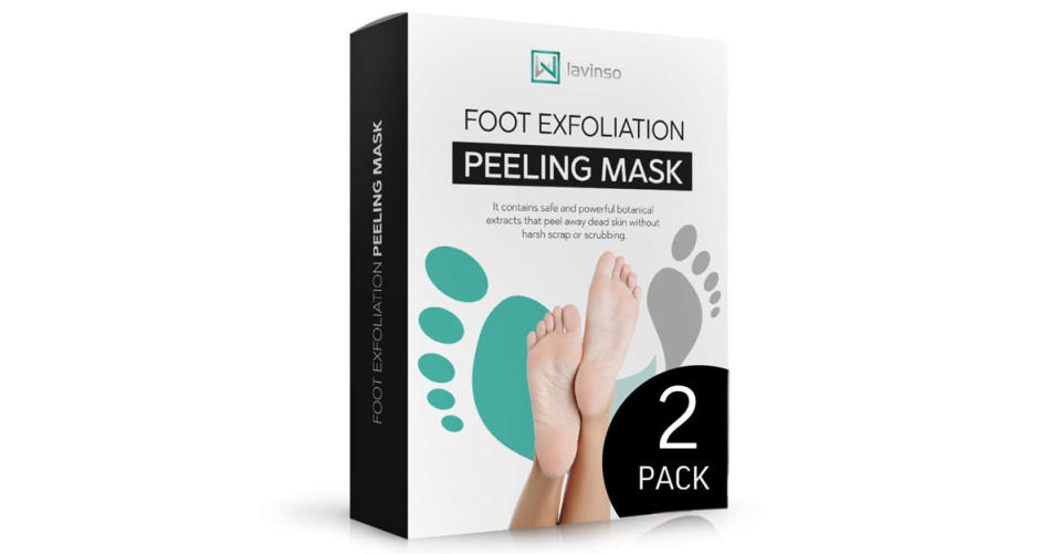 Lavinso Foot Peel Mask (Photo: Amazon)