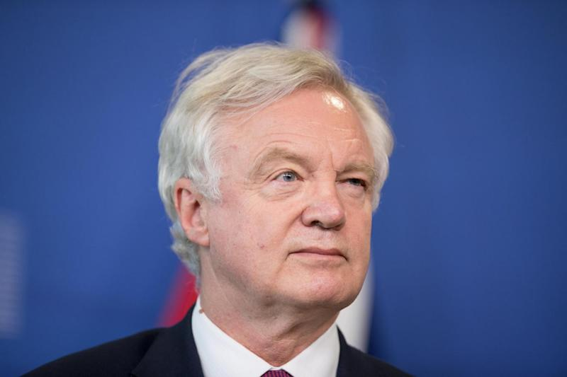 David Davis in Brussels as Brexit negotiations start today