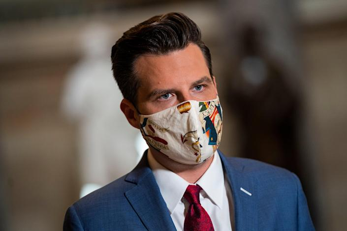 Florida Republican Matt Gaetz. (EPA)