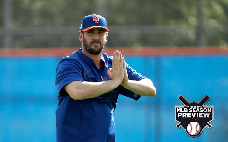 A big question for the Mets: What will they get out of Matt Harvey in 2017? (AP)