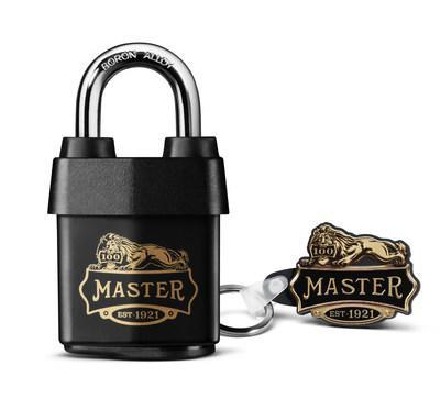 Featuring its commemorative 100-year logo and a black weather-resistant cover, Master Lock introduces the 1921D Padlock – a limited-edition product backed by 100 years of strength. The padlock includes a vintage stamped key, complementary keychain and provides maximum strength and reliability.