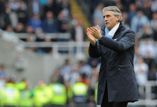 "Roberto Mancini said, ""I think Manchester City now is one of the top teams in England and Europe"""