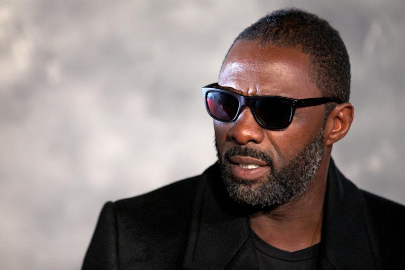 British actor Idris Elba attends the world film premiere of 'Thor, The Dark World' in central London on October 22, 2013. AFP PHOTO/ANDREW COWIE (Photo credit should read ANDREW COWIE/AFP via Getty Images)