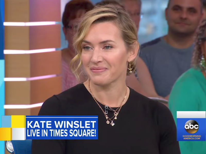 She was talking on Good Morning America. Source: ABC