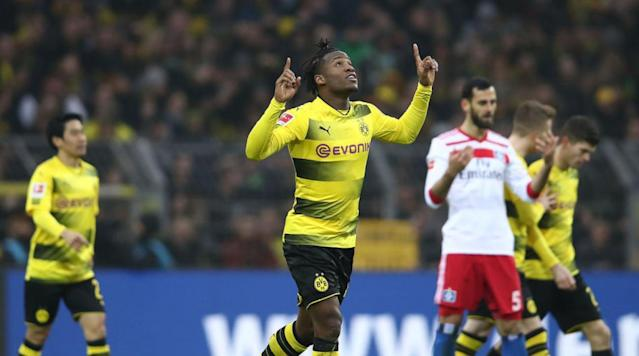 "<p><a href=""http://www.90min.com/teams/dortmund"" rel=""nofollow noopener"" target=""_blank"" data-ylk=""slk:Borussia Dortmund"" class=""link rapid-noclick-resp"">Borussia Dortmund</a> beat Hamburg 2-0 on Saturday afternoon at the Signal Iduna Park in what was a very impressive display from die Schwarzgelben. Goals on the day came from new boy Michy Batshuayi and Mario Gotze, as the win lifts Dortmund into third place following Bayer Leverkusen's surprise defeat to Hertha Berlin.</p><p>Dortmund controlled the majority of the first period. However, despite their possession they failed to break down the Hamburg back line and test Christian Mathenia in goal. The away side looked to play on the counter attack at it was them who had the best opportunity of a first half with very little chances.</p><p>Douglas crossed the ball in and, if not for Lukasz Piszczek's efforts in blocking Bobby Wood's close range volley, then the away side would have taken a surprise lead.</p><p>One bright note for the home side was the return of club hero Marco Reus. The German international found it hard to find space in-between the lines in the first period, but when he did get on the ball he showed his quality with his signature classy inter-play. </p><p>The home side began the second half brilliantly and with only four minutes played they finally had their goal. </p><p>After a great incisive pass from Reus, Christian Pulisic squared the ball across the face of the goal and it was Batshuayi who slid the ball into the back of the net - and afterwards celebrated in a very similar acrobatic fashion to that of a certain Pierre-Emerick Aubameyang.</p><p>As the game wore on Dortmund began to exploit the spaces in behind the Hamburg defense and they should have grabbed their second just minutes after Batshuayi's opener. </p><p>After being slipped through by Reus, Andre Schurrle found himself one-on-one with Mathenia, however the German failed to beat the Hamburg number one and the home side still only led by the one goal.</p><p>In the dying moments of the game Dortmund finally got their second goal of the game, as Schurrle broke away and slipped in Gotze, who replaced Reus, and the midfielder chipped the ball over the onrushing Mathenia and in doing so gave the home side all three points.</p>"