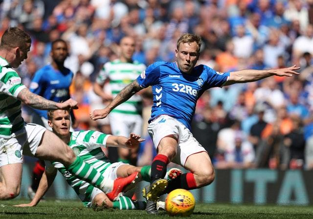 Rangers will be out to halt Celtic's quest for 10 in a row this season (Andrew Milligan/PA)