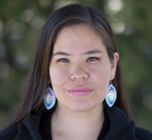 Tara Kiwenzie is a beader from Wikwemikong Unceded Territory on Manitoulin Island, Ont.