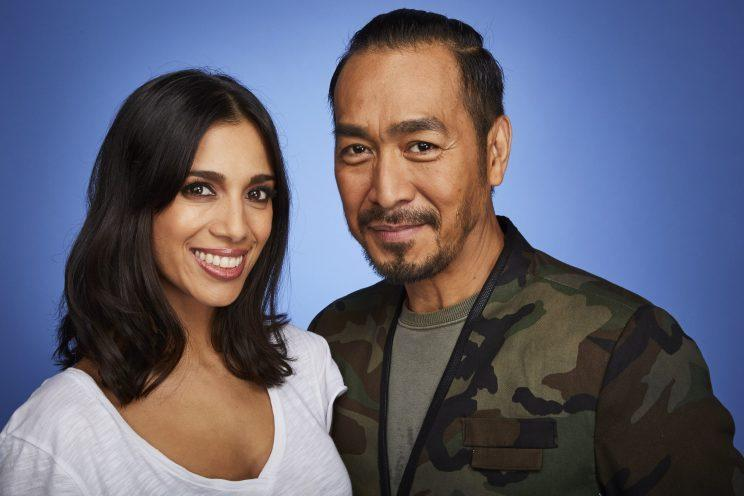 Fiona Wade and friend Ronnie in Dance Dance Dance