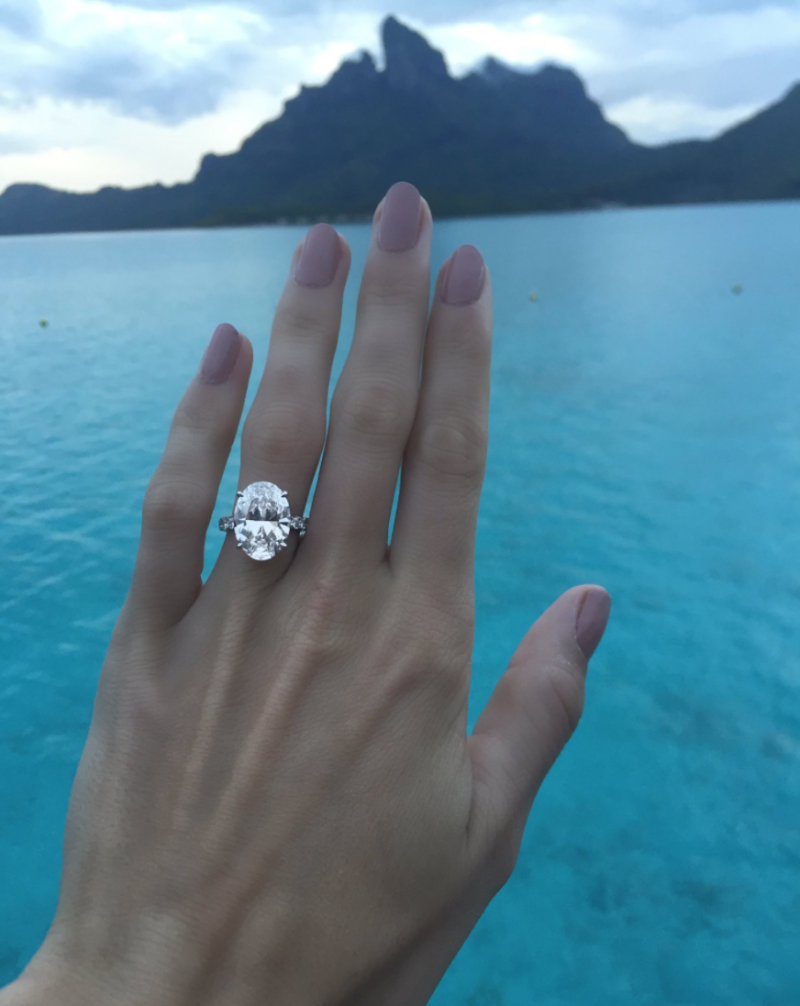 Caroline Wozniacki's Engagement Ring from David LEe