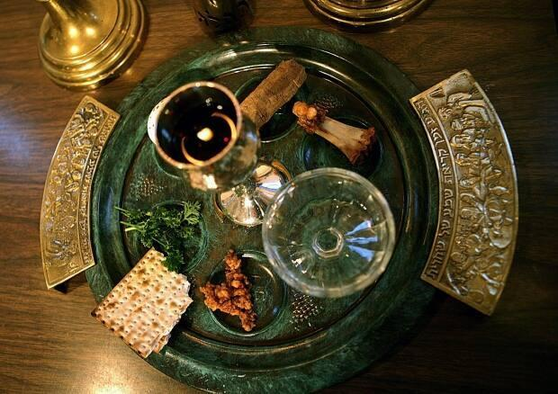 A traditional seder plate has six items.