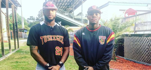 Christian Marshall and Elgin Woodside chose Tuskegee within hours of each other, both as mechanical engineering majors. (Photo courtesy Christian Marshall)