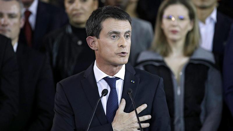 French PM Valls makes presidential bid