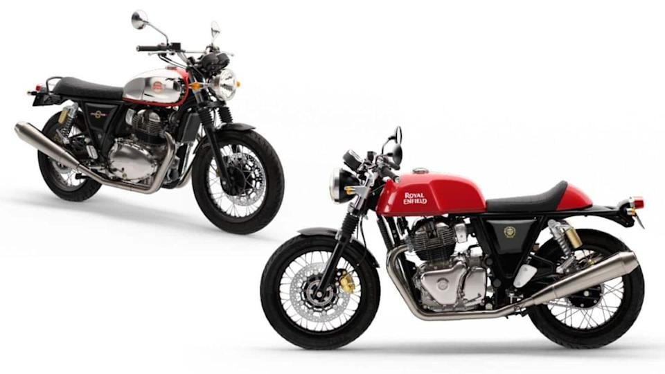 2021 Royal Enfield Interceptor and Continental GT 650 bikes launched
